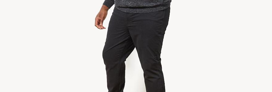 pantalons en grande taille