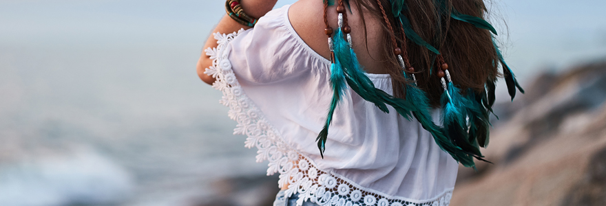 Un style hippie chic